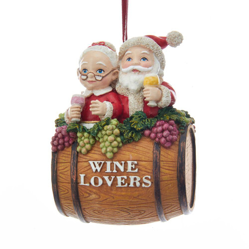 Mr. and Mrs. Santa Wine Lovers 2018