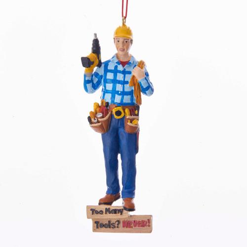Handyman 'Too Many Tools' Ornament