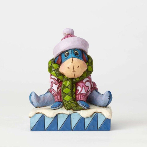 Jim Shore Disney Traditions - Winter Eeyore Figurine
