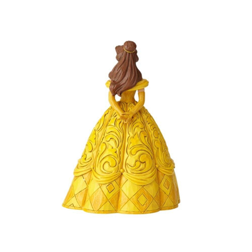 Jim Shore- Disney Collection - Belle With Chip Figurine
