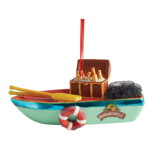 Department 56 - Margaritaville Boat Ornament