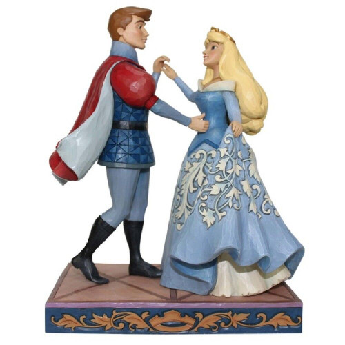 Jim Shore- Disney Traditions Aurora and Prince Phillip Dancing Figurine