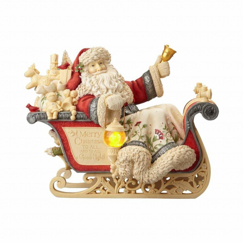 Heart of Christmas- Santa in Sleigh Figurine