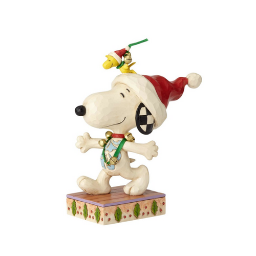 Jim Shore- Peanuts - Snoopy and Woodstock Figurine