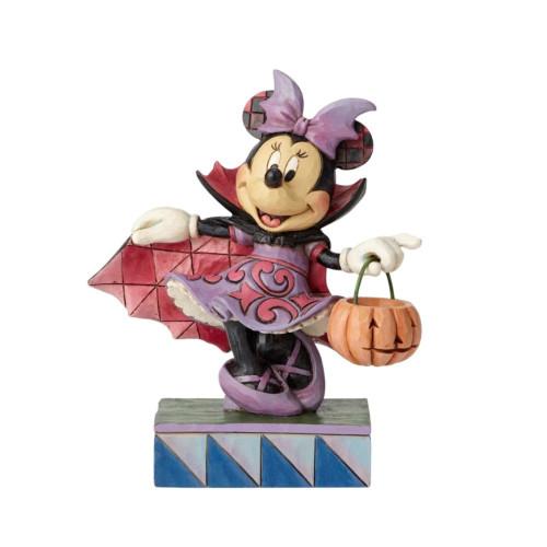 Jim Shore Disney Traditions - Minnie in Vampire Costume Figurine