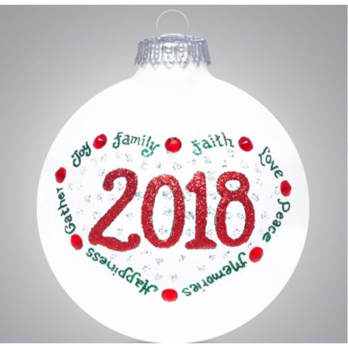 Heart Gifts by Teresa - USA Made - 2018 Limited Edition Ornament