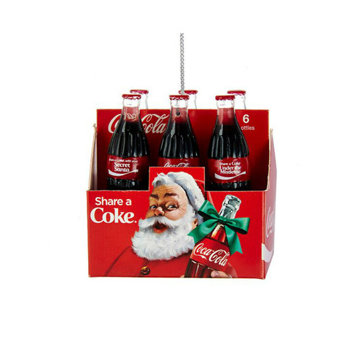 Coca Cola 6pk. Ornament