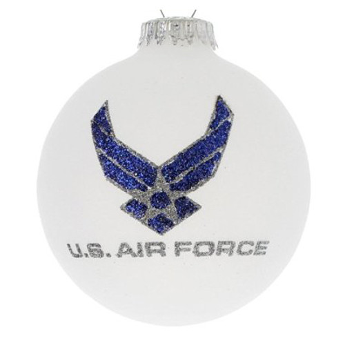 US Air Force Ornament- Heart Gifts by Teresa- USA Made
