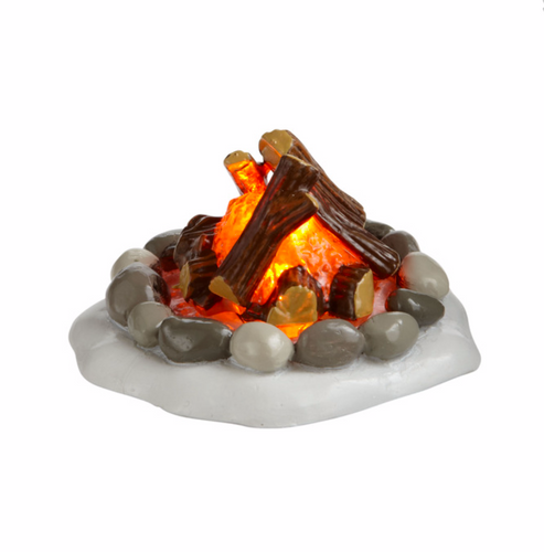 Department 56 - Lit Fire Pit