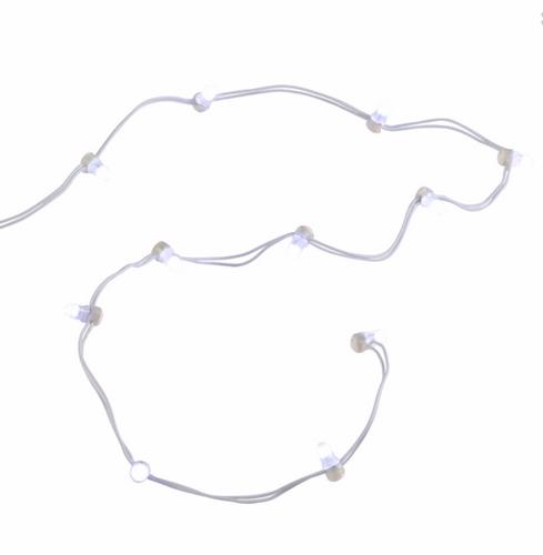 Department 56  Village Accessories - String Of 12 Bright White Ligh