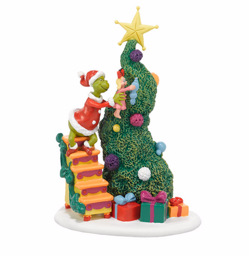 Department 56 Grinch Village  - It Takes Two, Grinch & Cindy-Lou Who