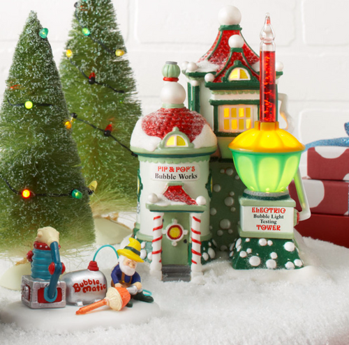 Department 56 - North Pole Series - Pip & Pop's Bubble Works