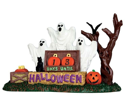 LEMAX Halloween-Halloween Countdown Table Top Accent