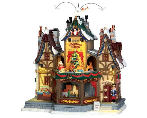 LEMAX-Holiday Hamlet Christmas Shoppe