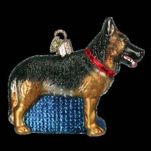 Old World Christmas - German Shepherd Ornament