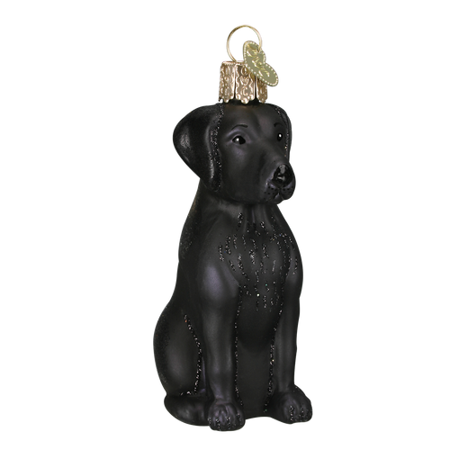Old World Christmas - Black Labrador Ornament