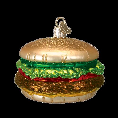 Old World Christmas -Cheeseburger Ornament