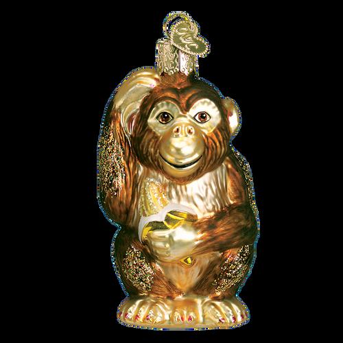 Old World Christmas - Chimpanzee Ornament