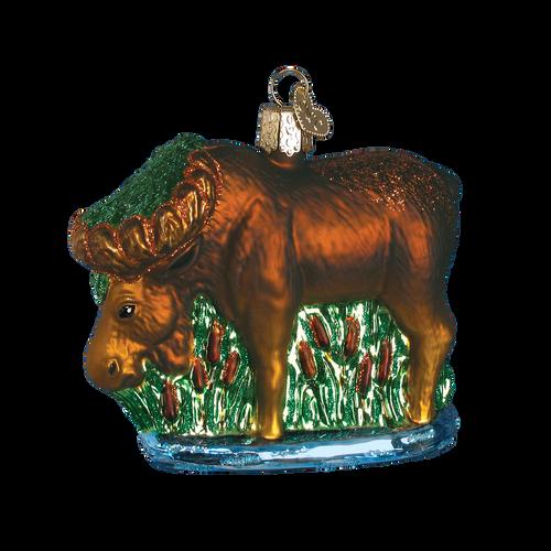 Old World Christmas - Munching Moose Ornament