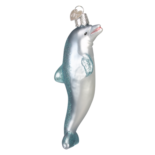 Old World Christmas- Playful Dolphin Ornament