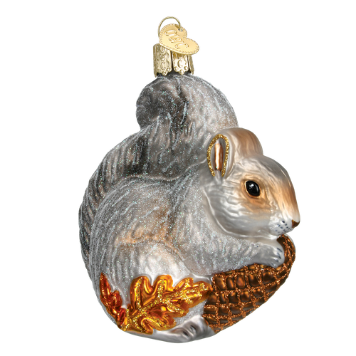 Old World Christmas - Hungry Squirrel Ornament