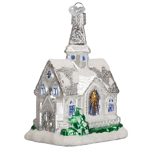 Old World Christmas - Sparkling Cathedral Ornament