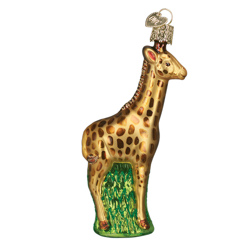 Old World Glass - Baby Giraffe Ornament