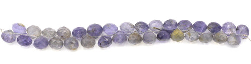 "4"" Strand 5-7mm Faceted Iolite Teardrop Beads"