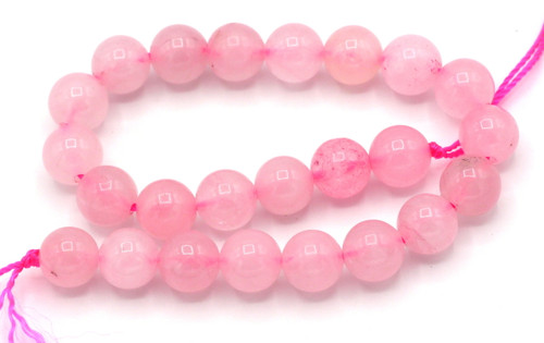 "8"" Strand 8mm Rose Quartz Round Beads"