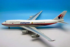 JFOX Malaysia Visit 1994 Boeing 747-4U3 9M-MHL with stand Scale 1/200 JF7474021