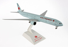 Skymarks Air Canada Boeing 777-300 with Gear and Revolving  Fan Blades Scale 1/200 SKR236