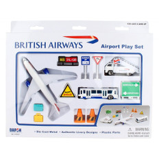 British Airways Toy Airport Playset Age 3+ PP-BA6261