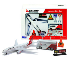 Qantas Toy Airport Playset Age 3+ RT8551