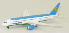 JC WINGS  UZBEKISTAN B787-8 UK78701 WITH STAND SCALE 1/400