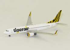 JC WINGS TIGER AUSTRALIA BOEING 737-800 VH-VUB WITH ANTENNA SCALE 1/400