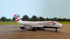 "GEMINI JETS  BRITISH AIRWAYS ""VICTORIOUS""  B747-400 G-CIVA 1/400 GJBAW1593"