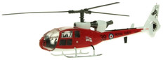 AVIATION 72  WESTLAND GAZELLE ROYAL NAVY 705 NAS CULDROSE XX436/CU-39 GORDON SCALE 1/72