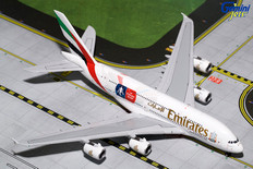 "Gemini Jets Emirates Airbus A380-800 ""FA Cup"" A6-EER  Scale 1/400"