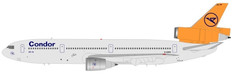 CONDOR DC-10-30 D-ADPO WITH STAND SCALE 1/200  WBDC103006