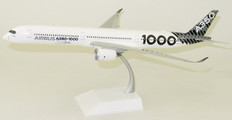 """JC WIngs Airbus A350-1000 Reg: F-WLXV """"Carbon Livery"""" With Stand Scale 1/200 JC2153"""
