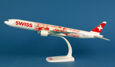Herpa Wings Swiss International Air Lines Boeing 777-300ER Faces of Swiss HB-JNA Scale 1/200  611671