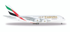 Herpa Emirates Airbus A380 Scale 1/500