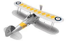 Corgi Gloster Sea Gladiator N5519/G6A No802 NAS HMS Glorious 1939  Scale 1/72