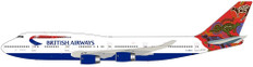 Blue Box British Airways Boeing 747-400 Wunala Dreaming G-BNLS Scale 1/200 BX7474025