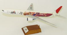 """JC WINGS JAL BOEING 777-300 REG: JA8941 """"JOURNEY TO THE WEST LIVERY"""" WITH STAND SCALE 1/200 JCLH2035"""