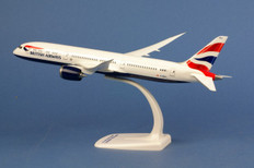 Herpa British Airways Boeing 787-9 Dreamliner - G-ZBKA Scale 1/200