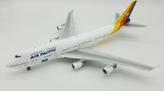 JFOX AIR PACIFIC BOEING 747-400 DQ-FJL WITH STAND SCALE 1/200 JF7474026