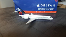 Gemini Jets Delta Boeing 717 N977AT Scale 1/400 GJDAL1388 CCK