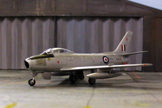 Corgi Sabre F4 – RAF Sabre Conversion Flt, Nat Metal Scale 1/72 AA35812