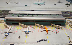 Ex Display Airport Terminal, Hanger, Control Tower, & Air Bridge 747-8 Scale 1/400